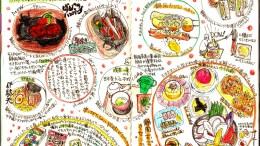 モレスキン絵日記:静岡旅行 グルメ編