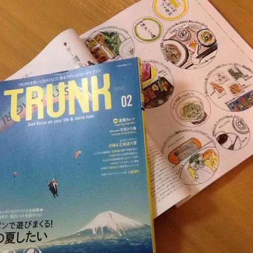 TRUNK021に神戸旅行の絵日記を掲載いただきました!