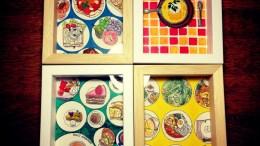 トイレに飾る絵展 2014出展作品(ハヤテノコウジ)