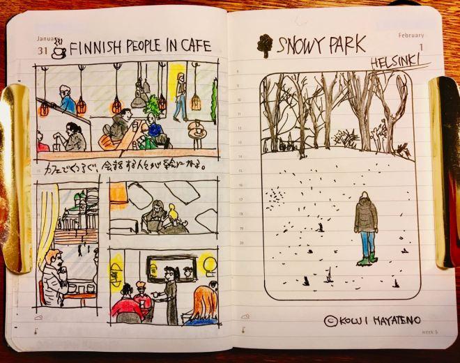 冬のフィンランド旅行記(デイリーダイアリー)