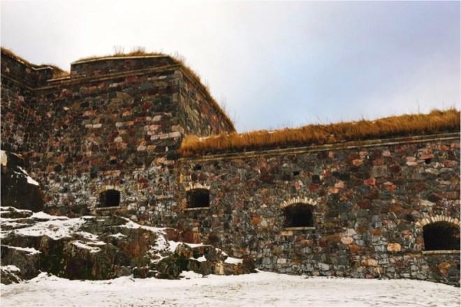 スオメンリンナ要塞跡らしい風景