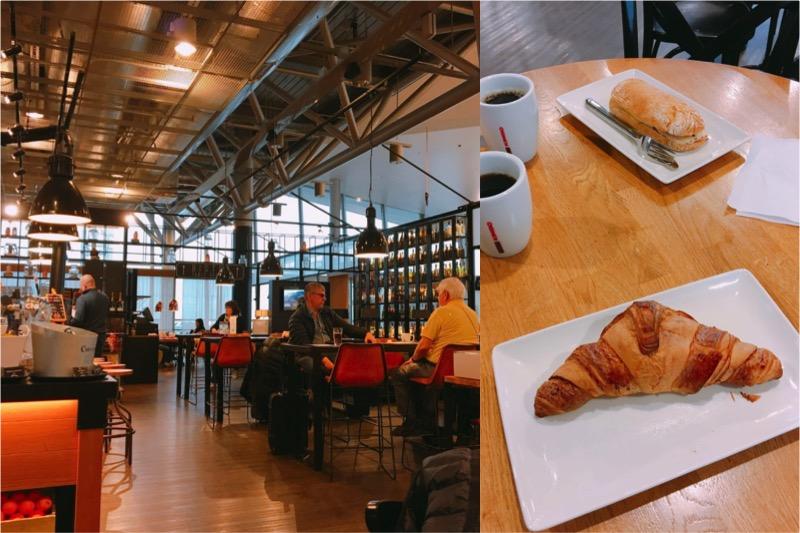 ヴァンター空港内のレストラン