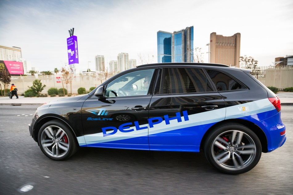 Delphi and Mobileye
