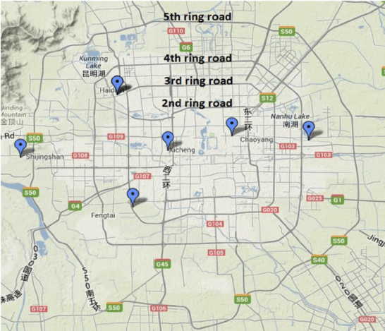 Schematic-diagram-and-map-of-the-four-ring-roads-and-sampling-organizations-in-Beijing