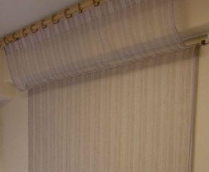 梁に這わせる布の画像