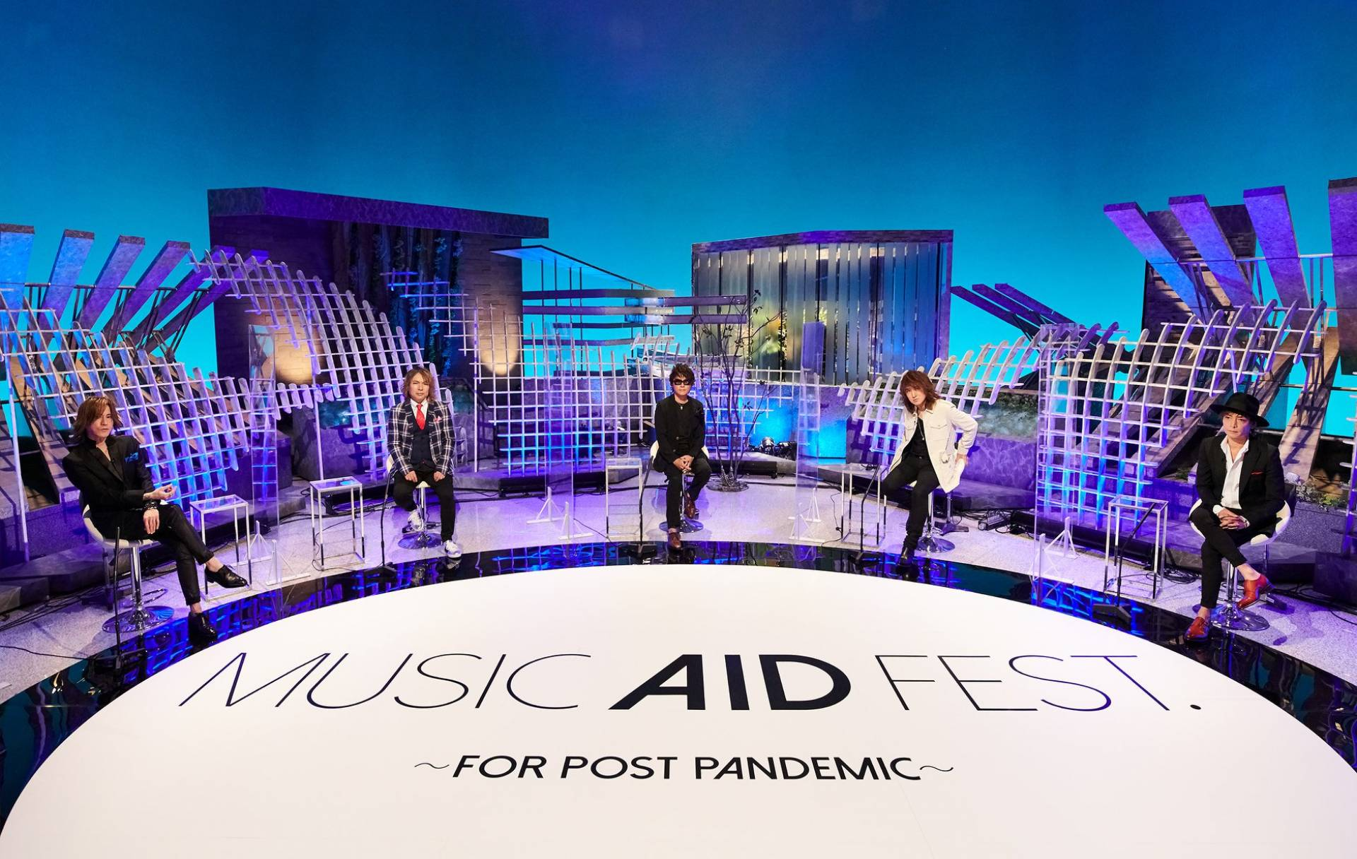 "LUNA SEA to Stream ""MUSIC AID FEST. ~FOR POST PANDEMIC~"" Aftertalk Program and Upload 30 Full Music Videos to YouTube"
