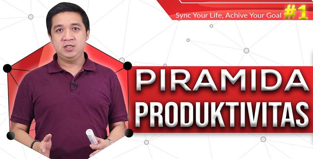 Sync Planner // Piramida Produktivitas