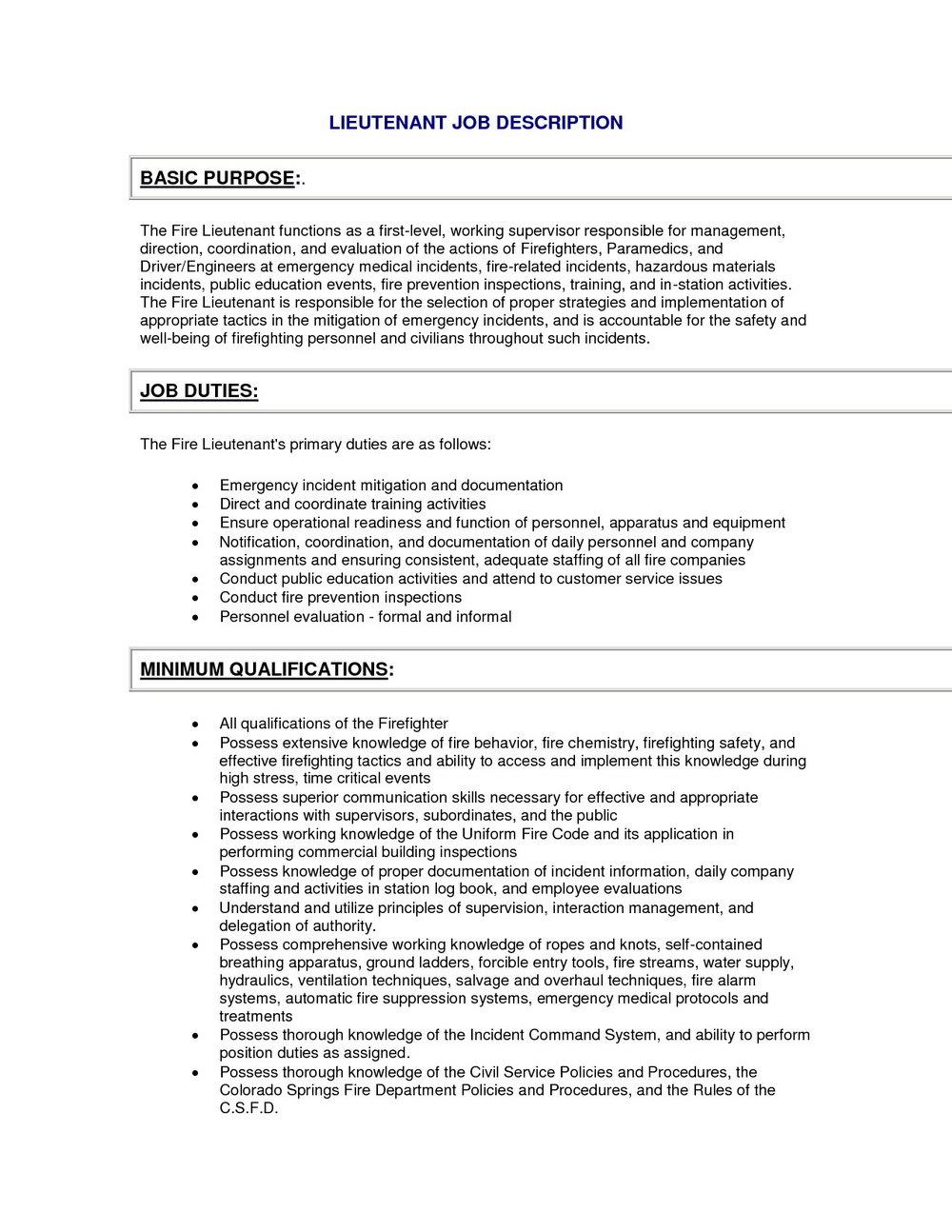 Correctional Officer Job Application
