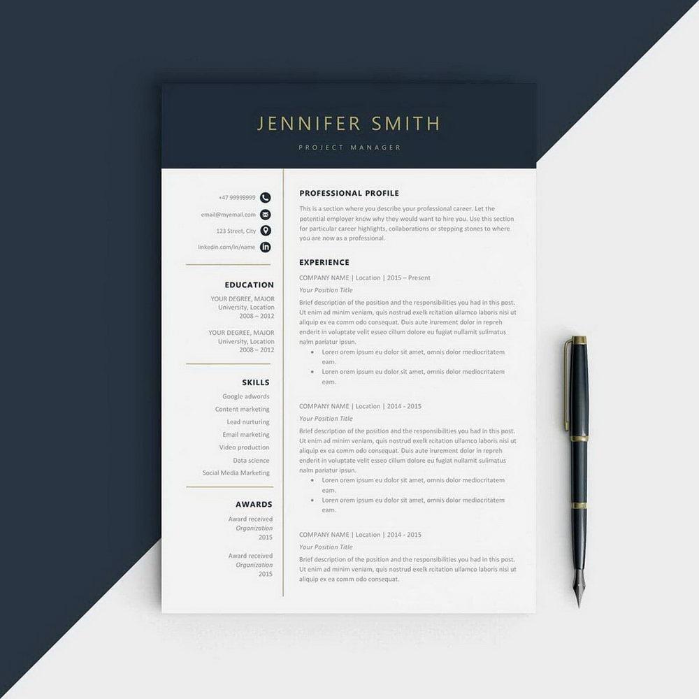 Download Executive Resume Templates