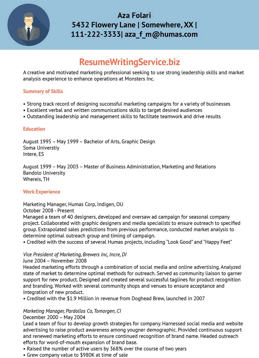 Free Printable Resume Templates Downloads