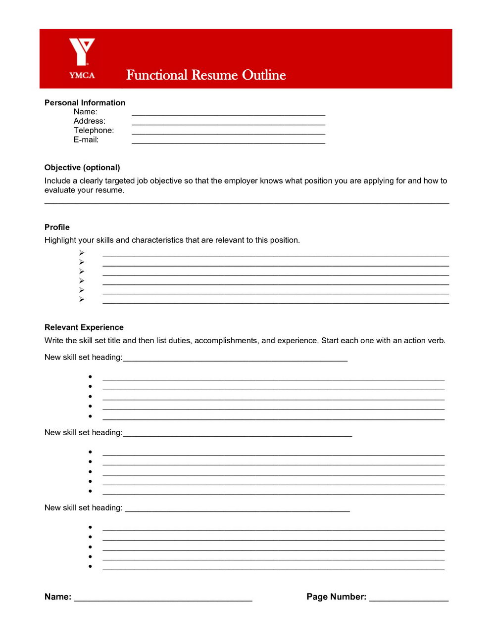 Free Printable Resume Templates Online