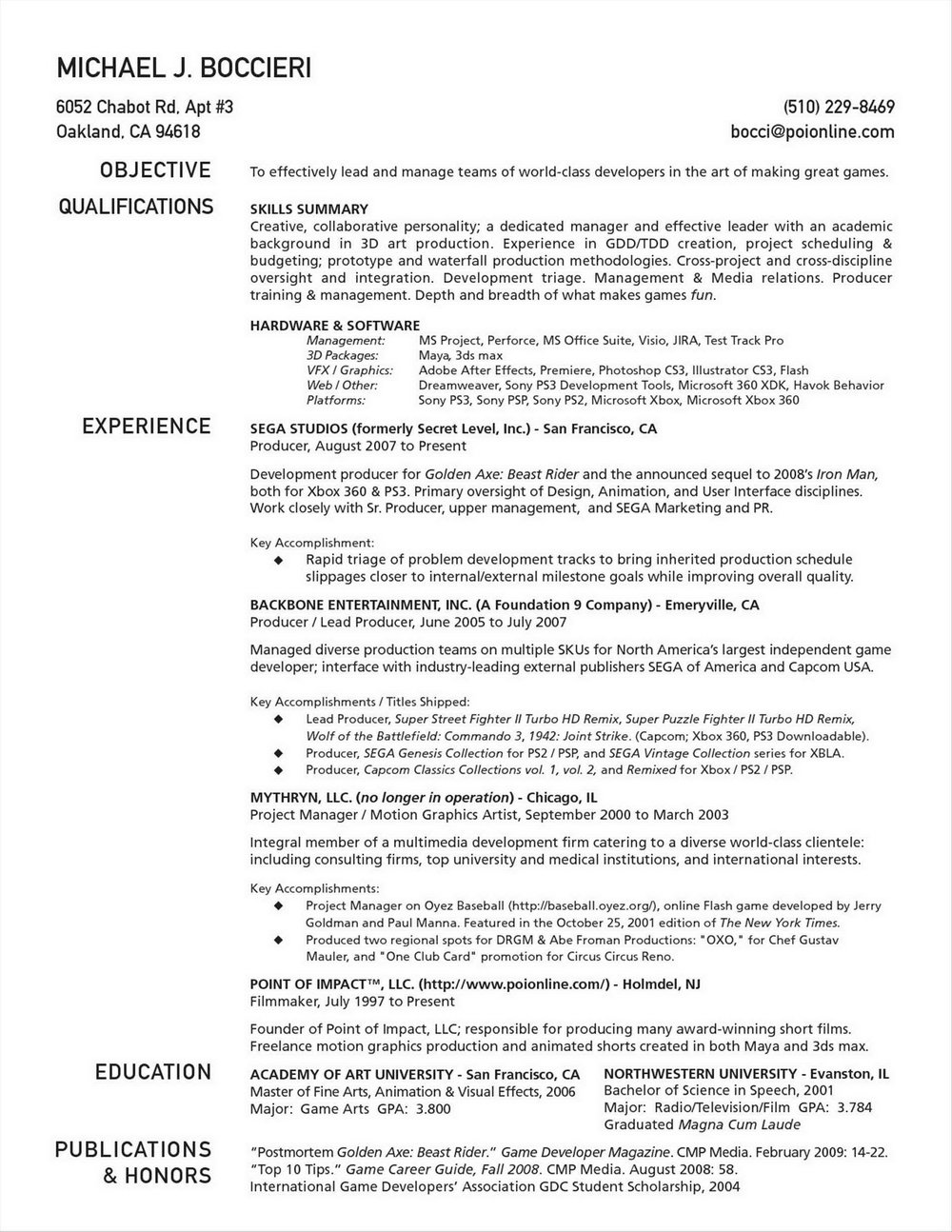 Job Resume Format Free Download Pdf