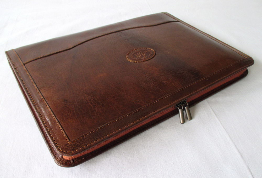 Leather Portfolio Case For Resume