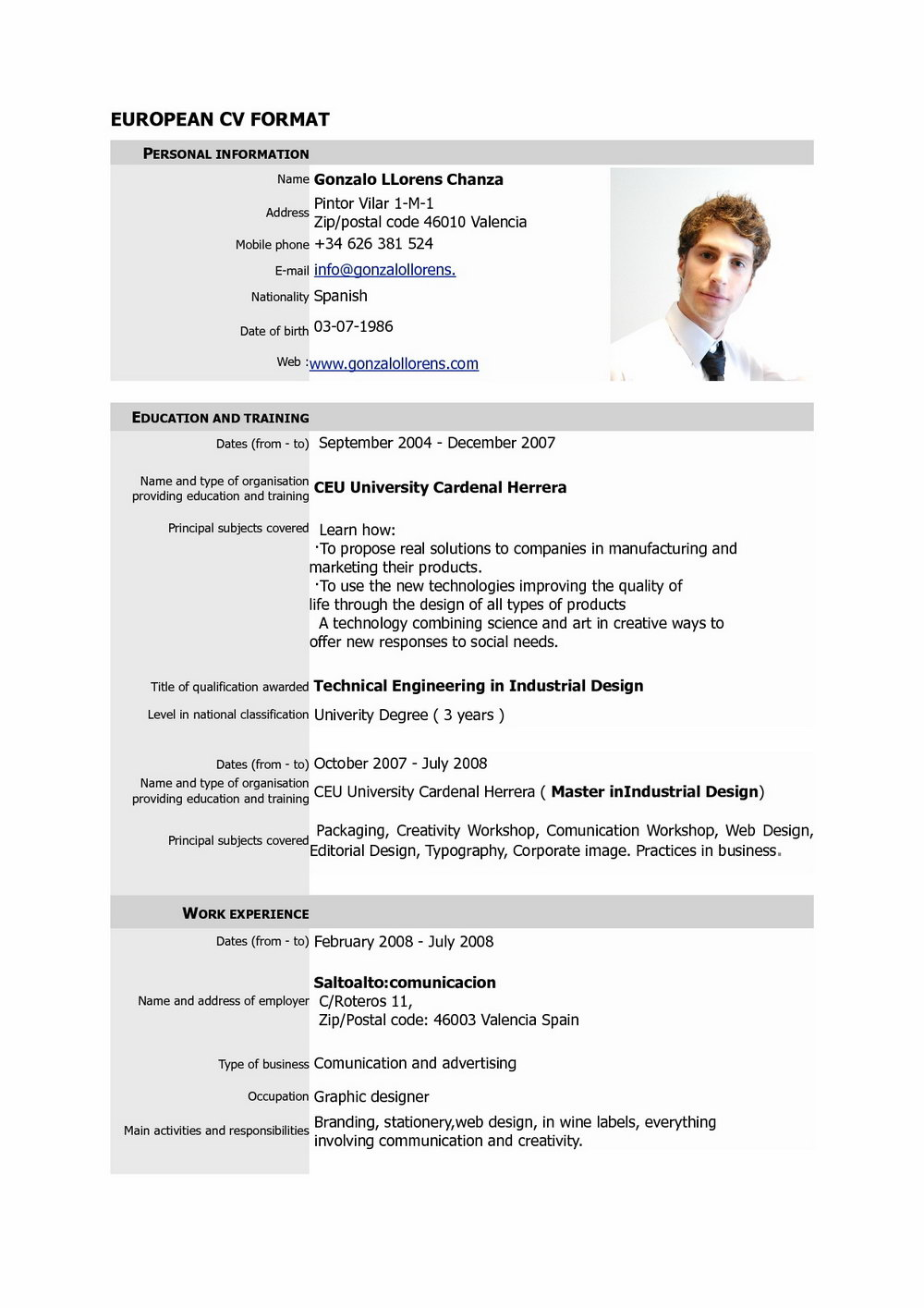 Online Resume Maker For Highschool Students