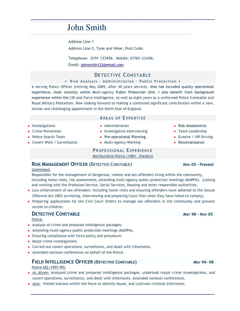 Resume Format Pdf Download Free