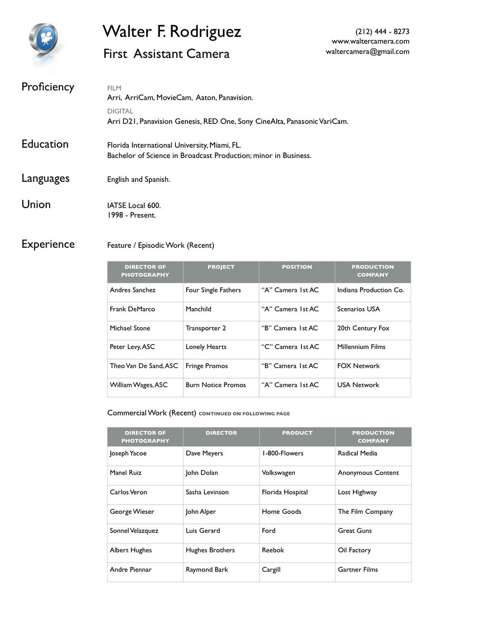 Resume Format Pdf Free Download