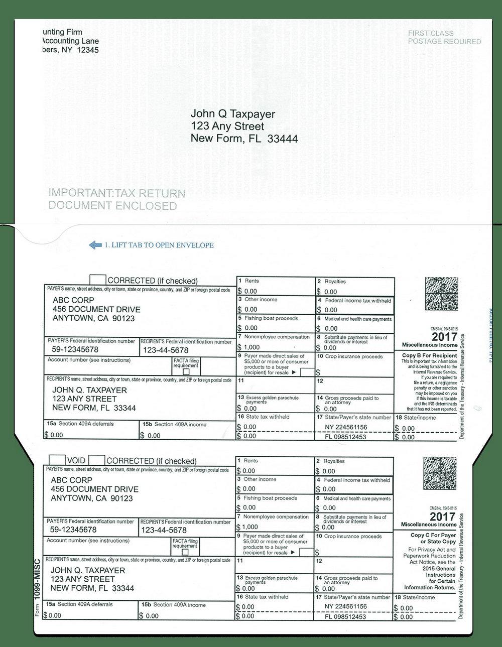 1099 Tax Form 2013