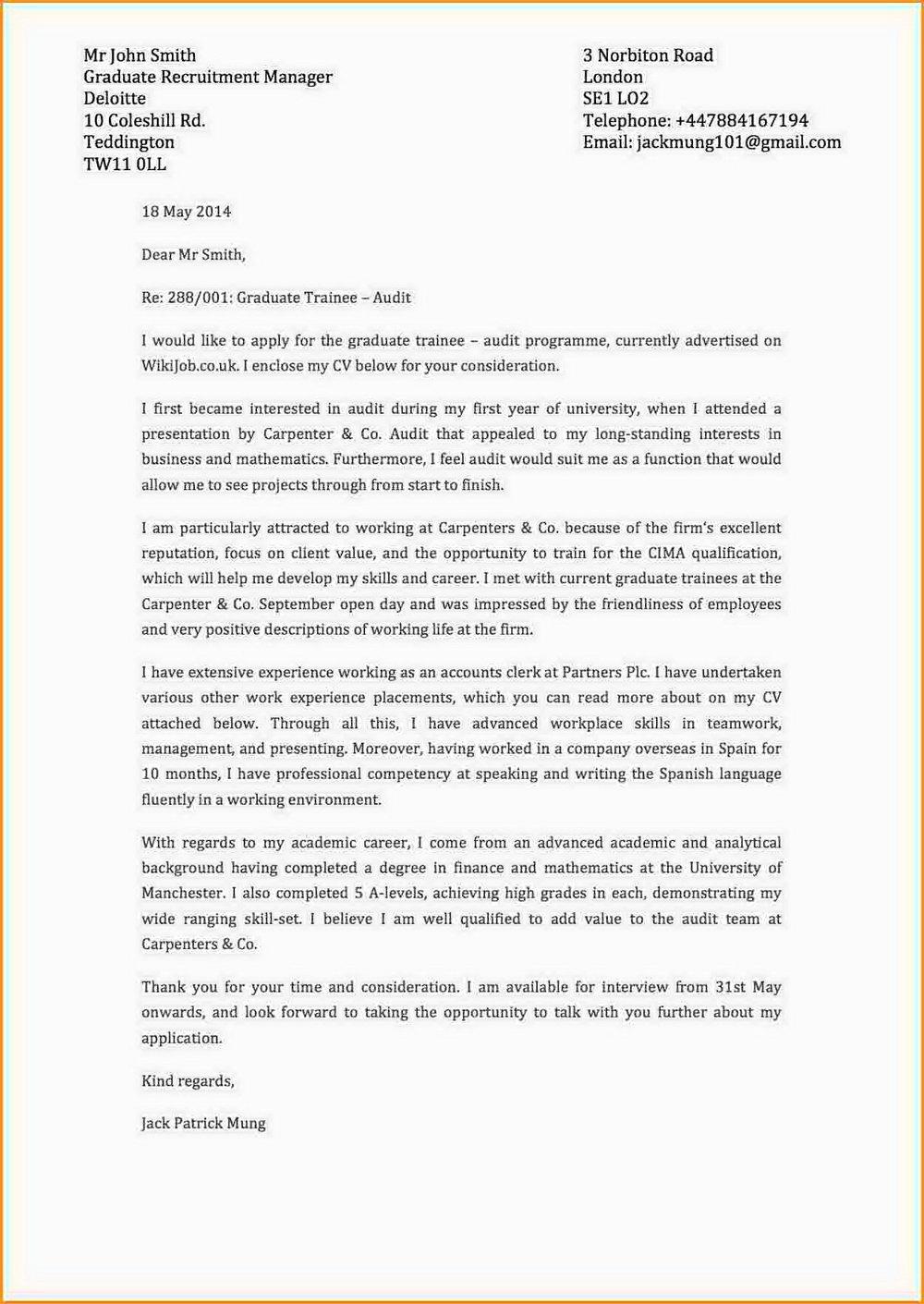 Free Printable Cover Letter Builder