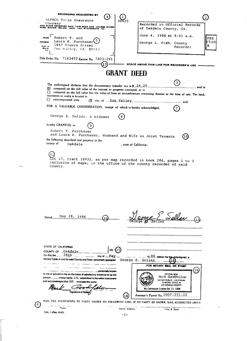 Grant Deed Form