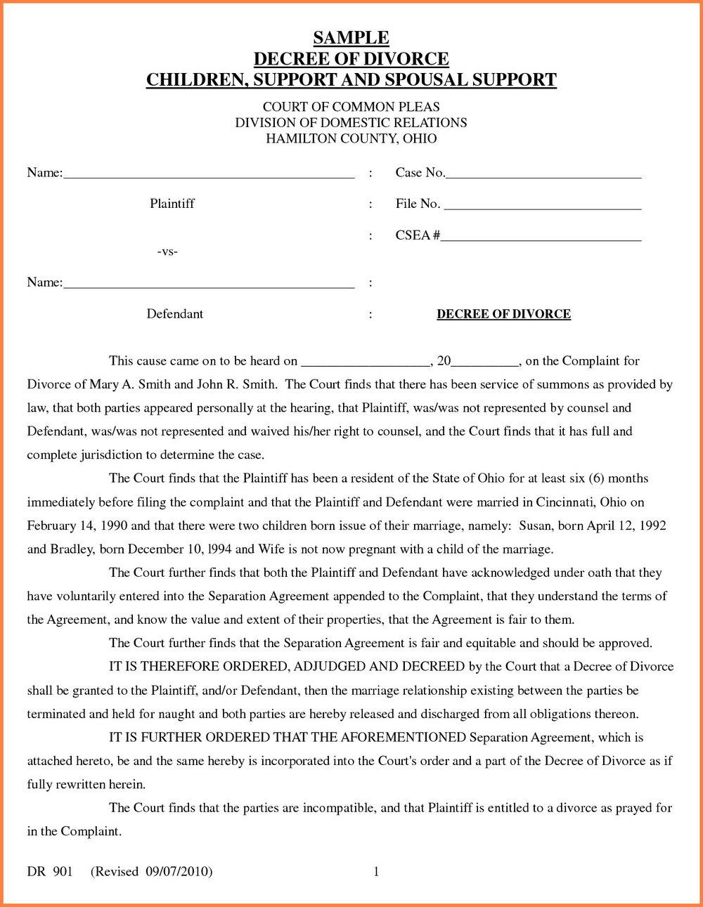 Massachusetts Divorce Forms Financial Statement