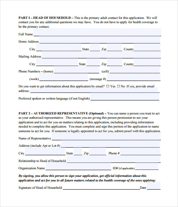 Medicaid Application Form Online