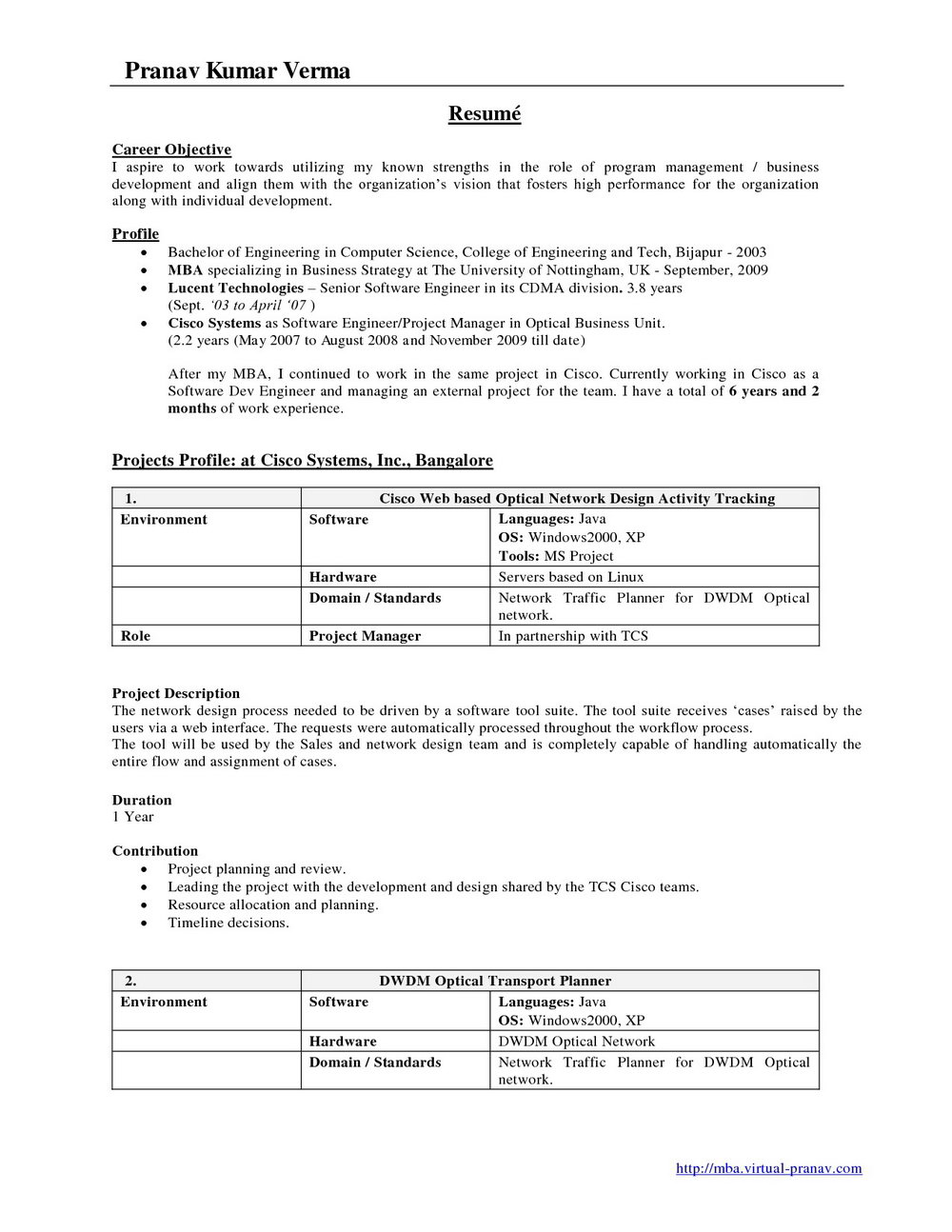 New Resume Format For Freshers 2016