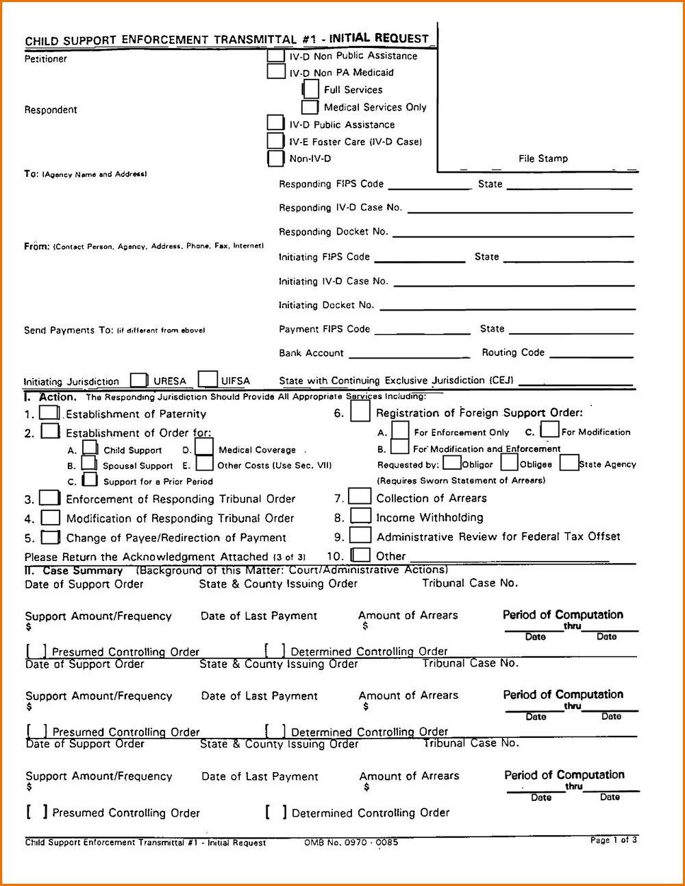 Nj Divorce Forms