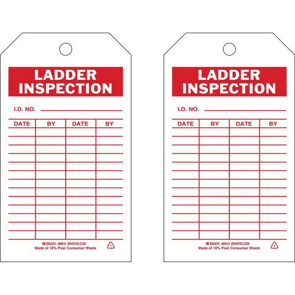 Ladder Inspection Form Uk