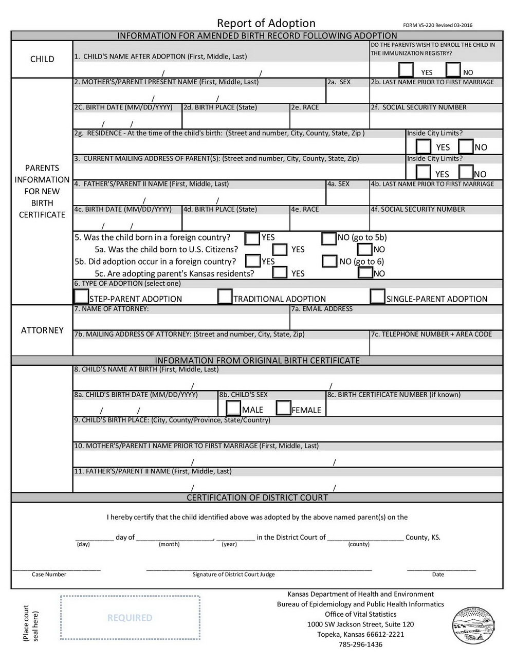 Stepparent Adoption Forms Florida