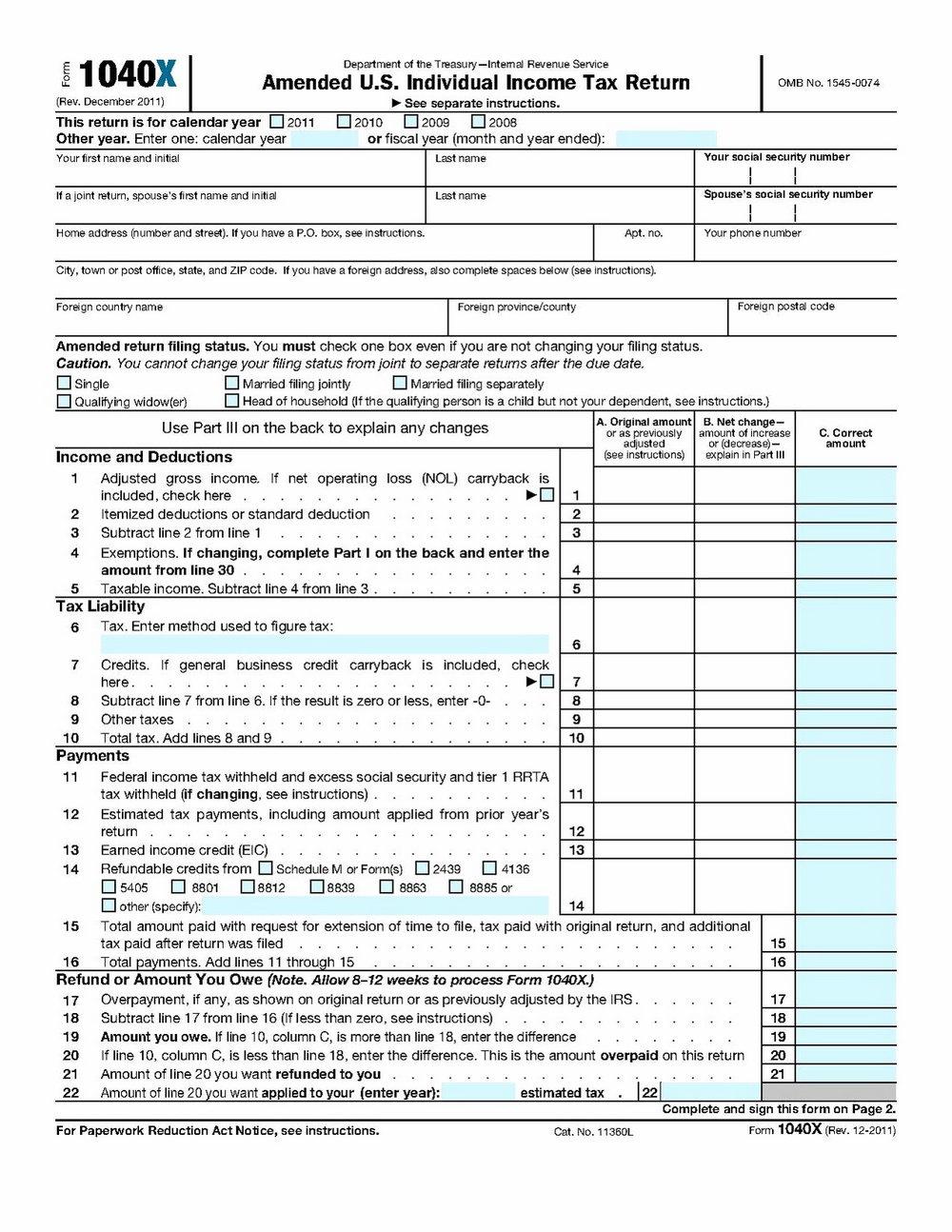 Us Gov Tax Forms W 4