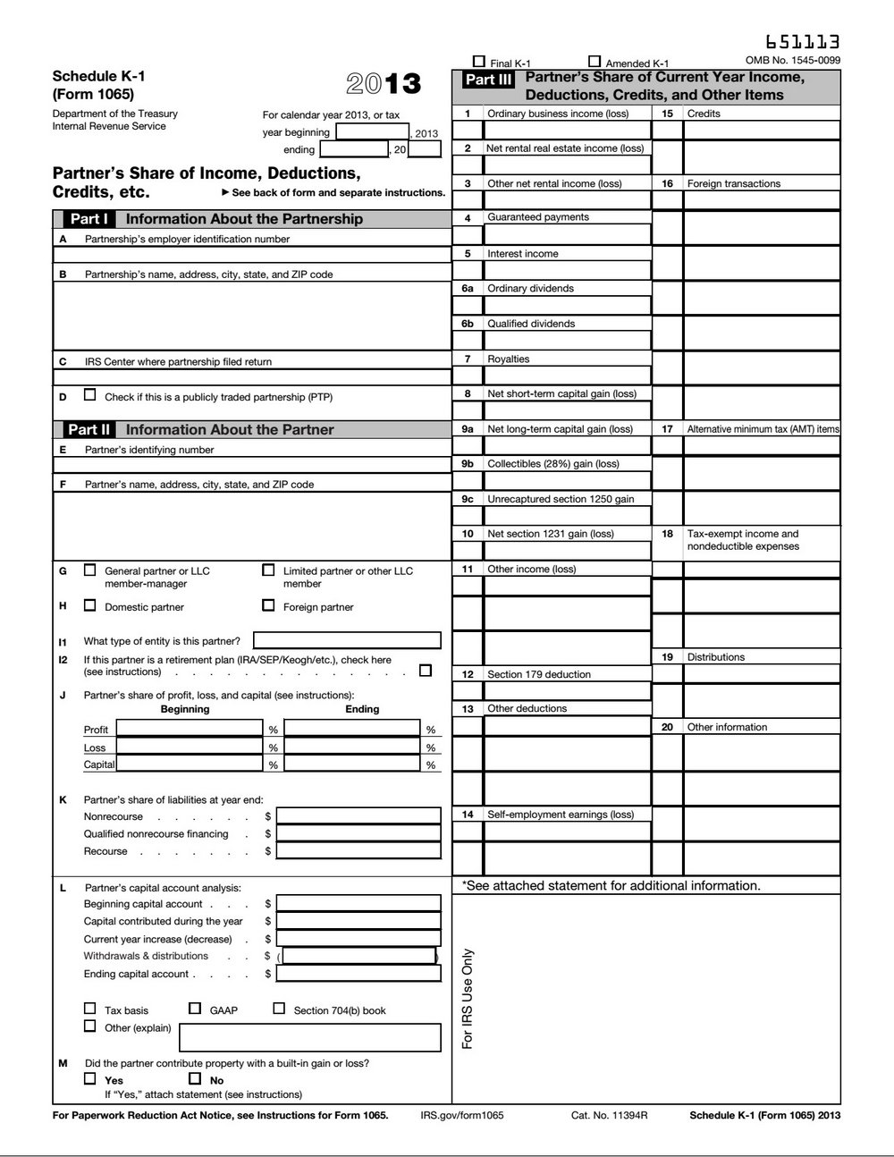 2014 Form 1120s