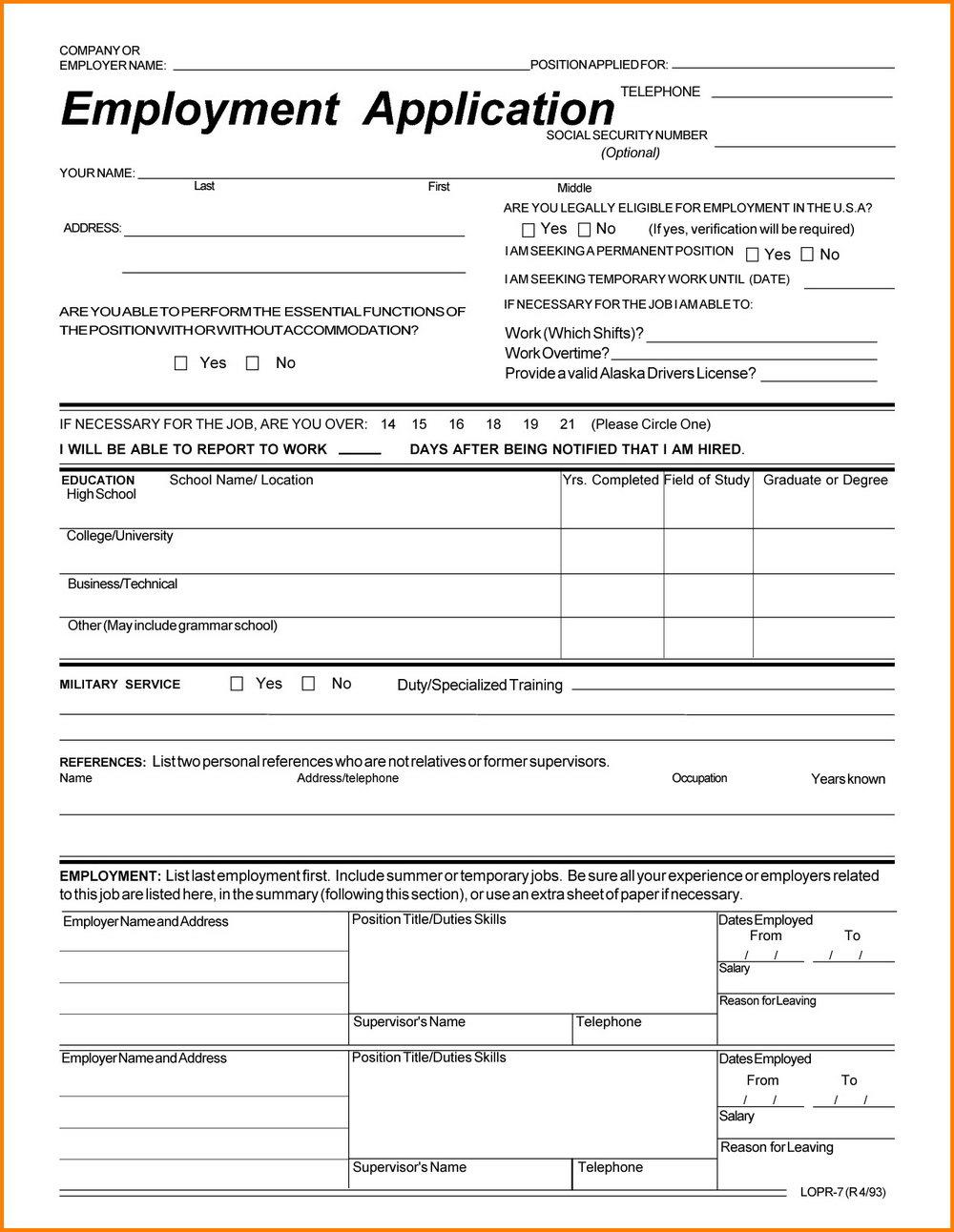 Goodwill Application Form Online