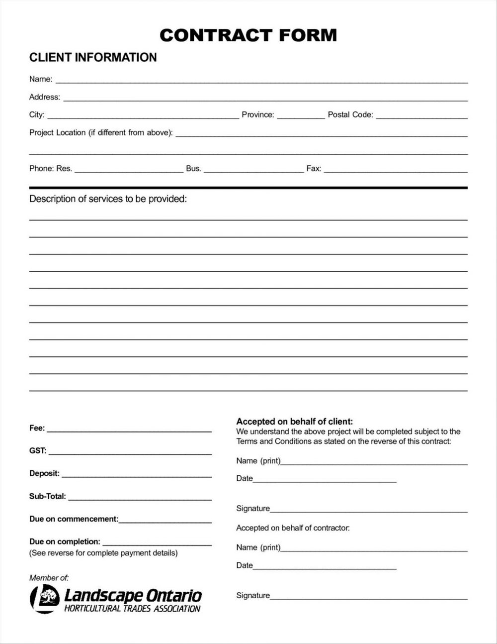 Aia Contract Forms Free