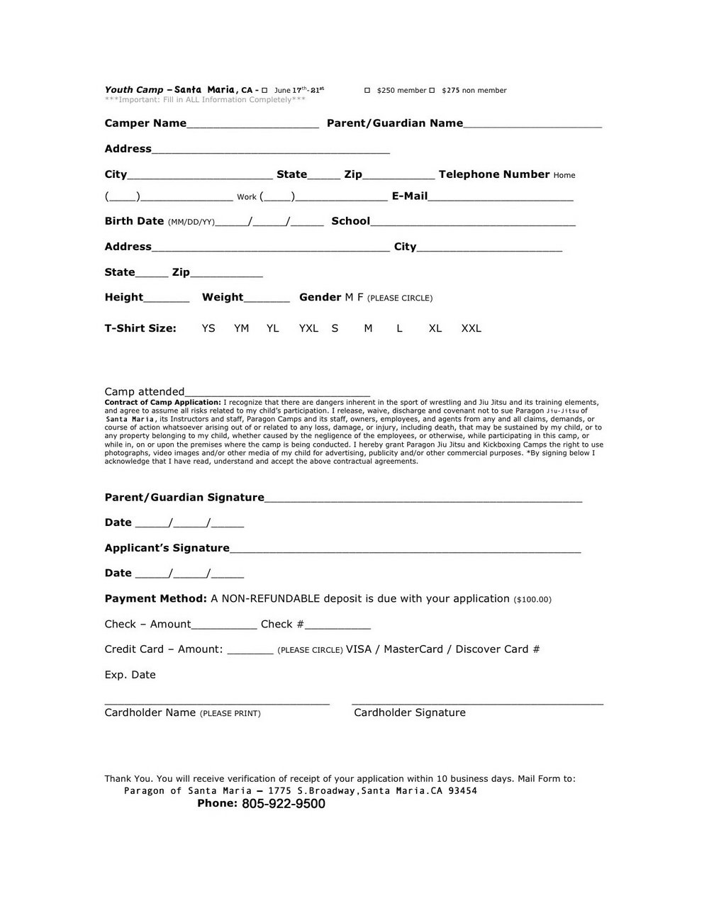 Application For Social Security Disability Printable Form