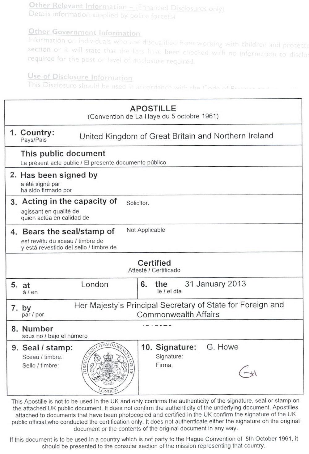 E2 Visa Form