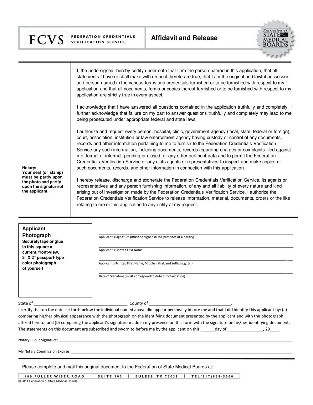 Small Estate Affidavit Texas Form