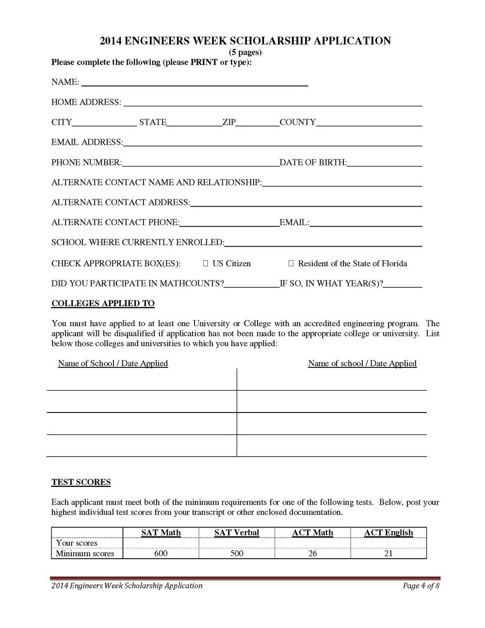501c3 Application Form 1023