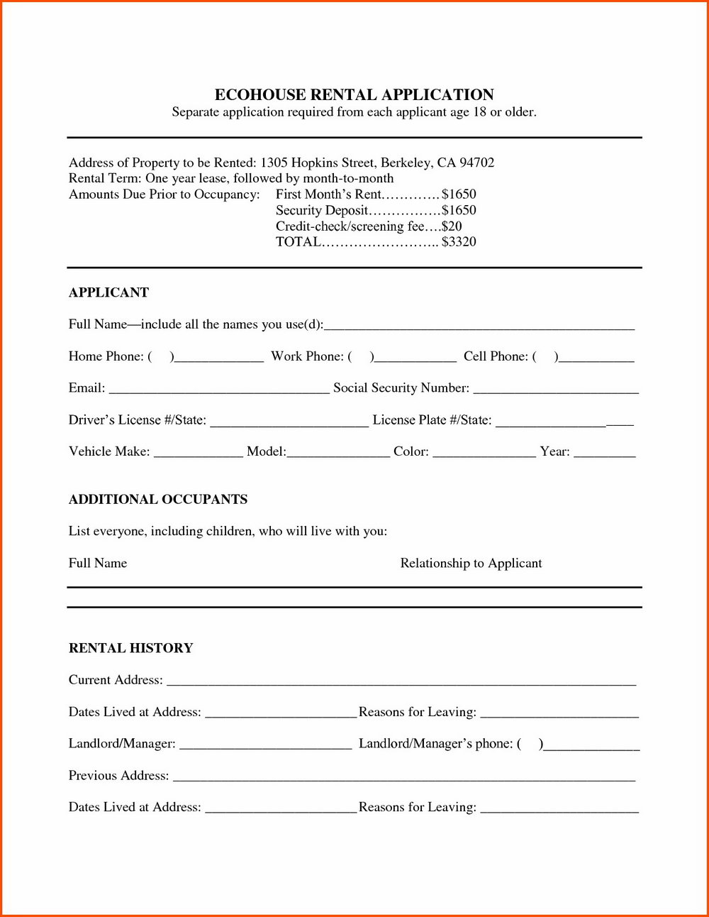 Aia A101 Form Free
