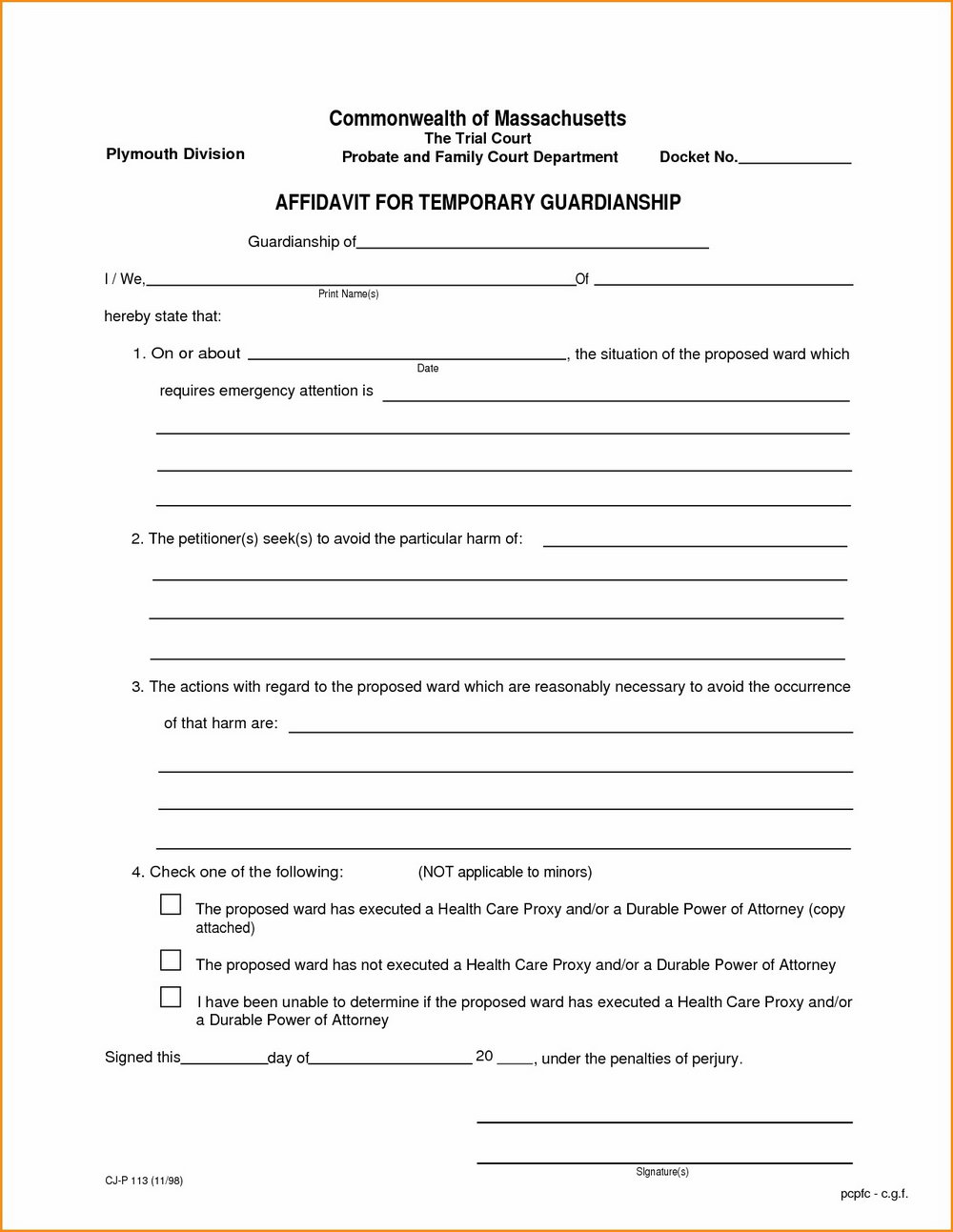 Co Parenting Agreement Template Uk