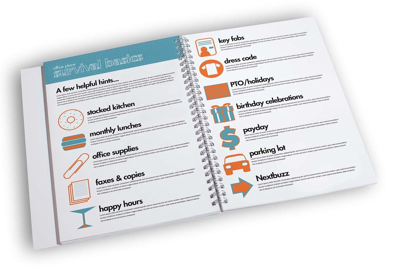 Creative Employee Handbook Template