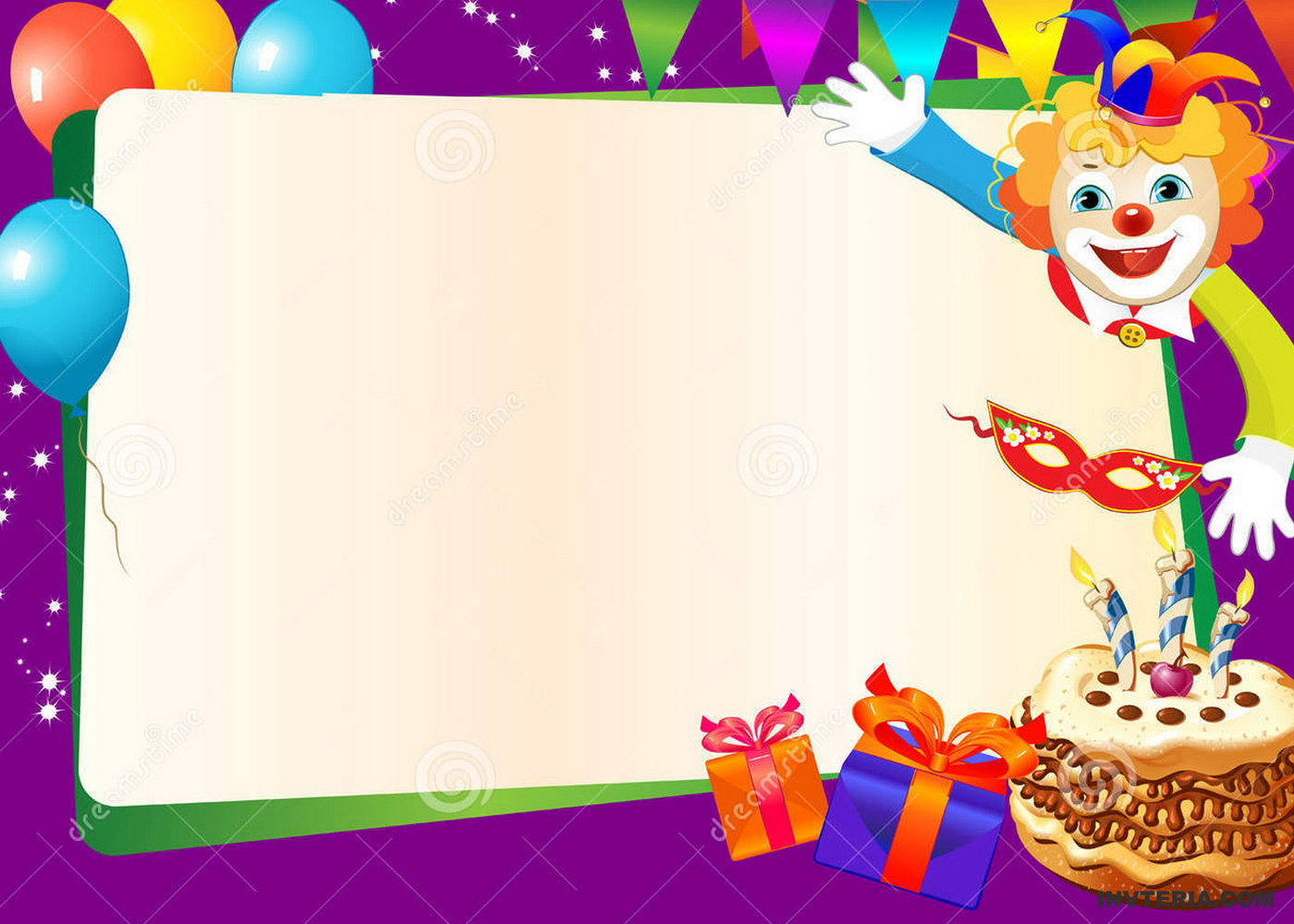 Editable Free Birthday Invitation Templates