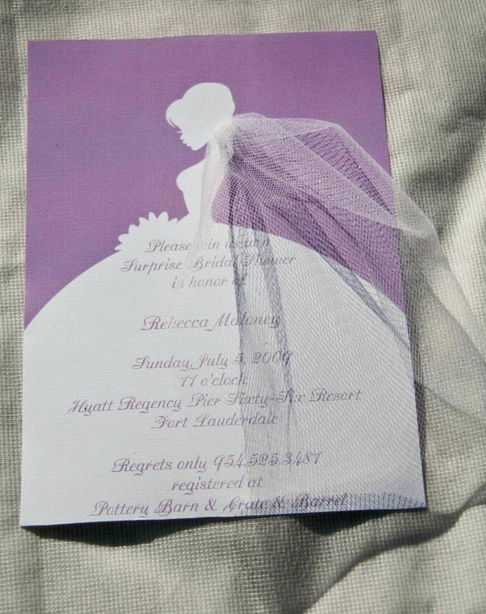 Fall Bridal Shower Invitation Templates