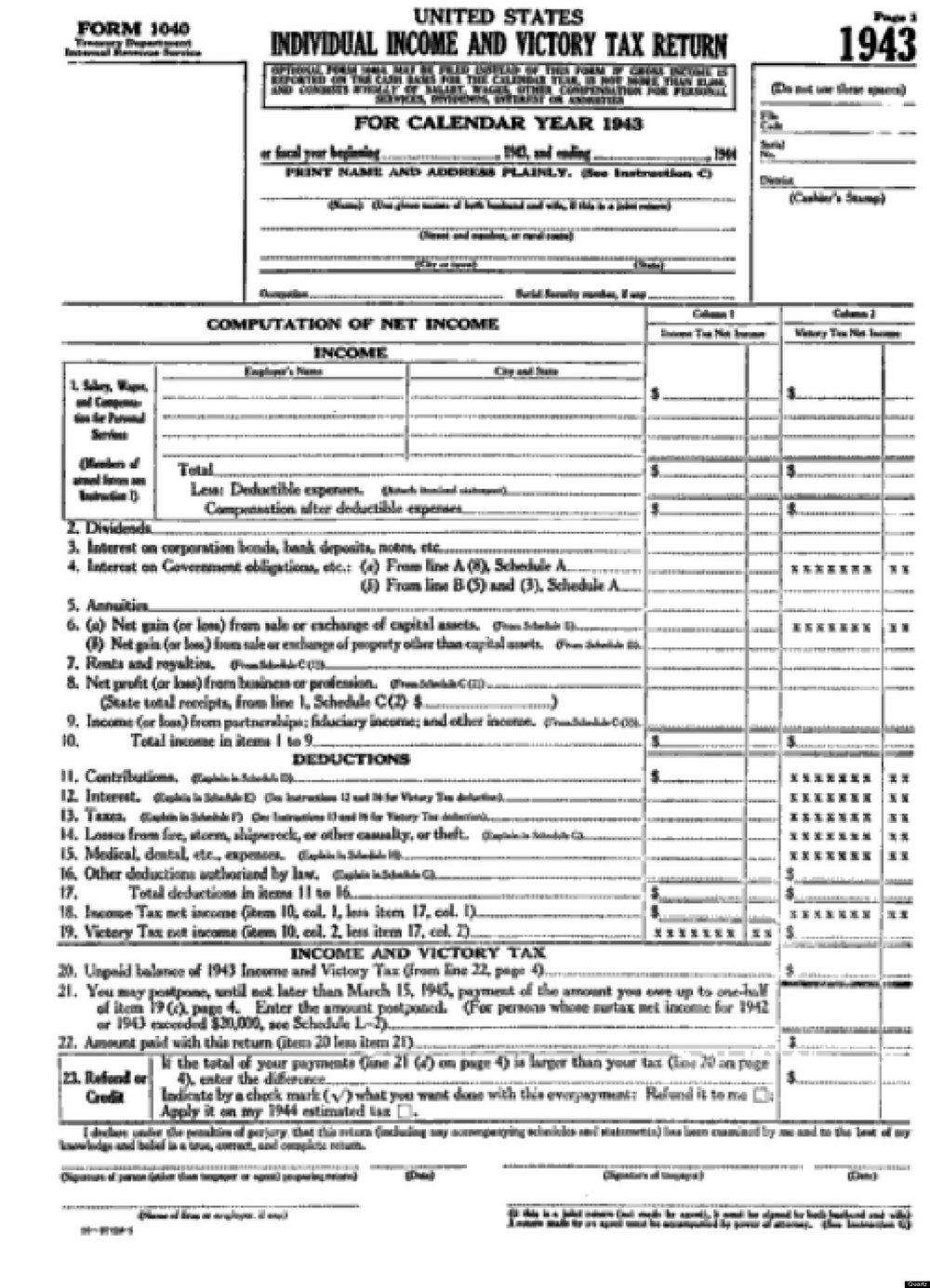 Federal Income Tax Worksheet