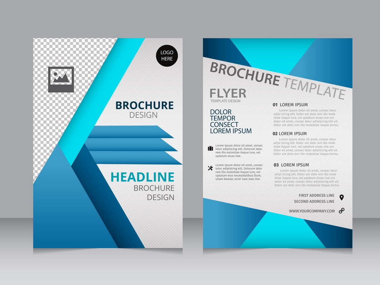 Free Brochure Templates For Word