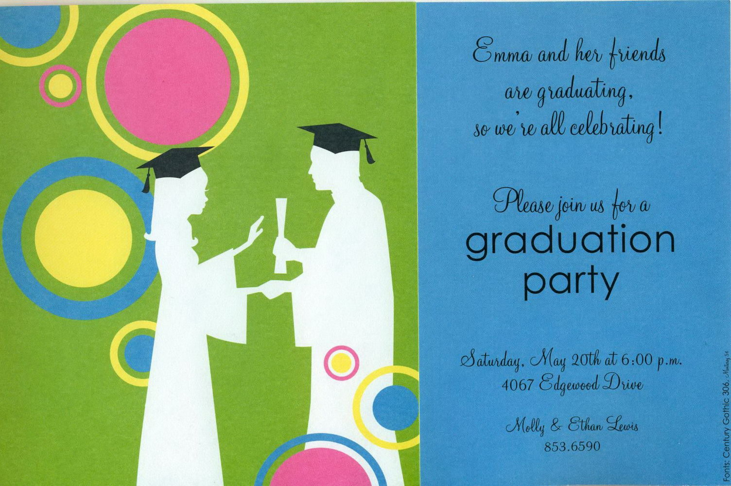 Graduation Invitation Templates Free Download