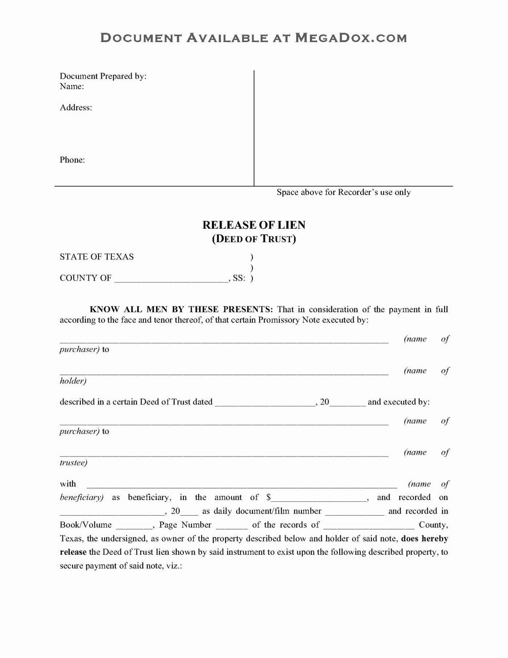 Revocable Living Trust Amendment Form