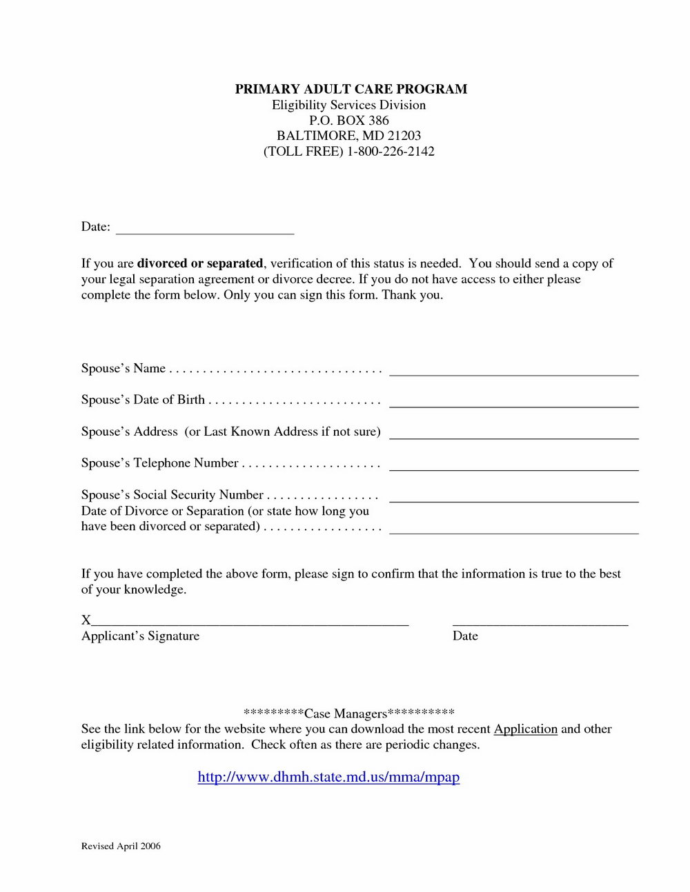 Sperm Donor Agreement Form