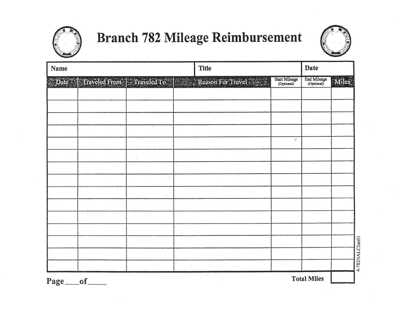 Workers Compensation Mileage Reimbursement Form Michigan