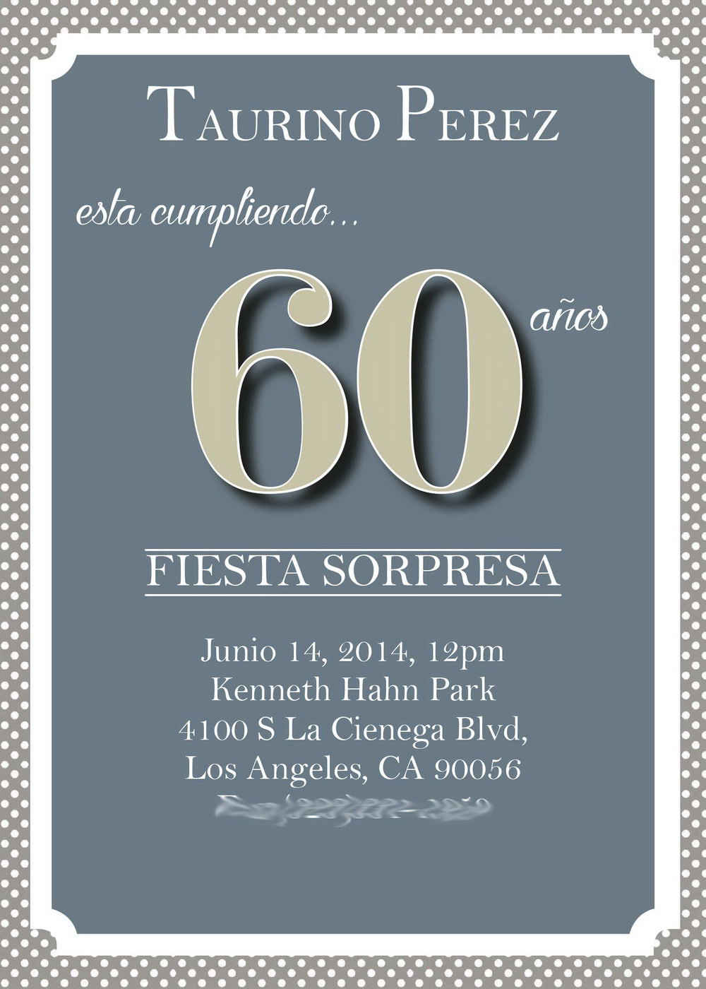 60 Birthday Invites Templates