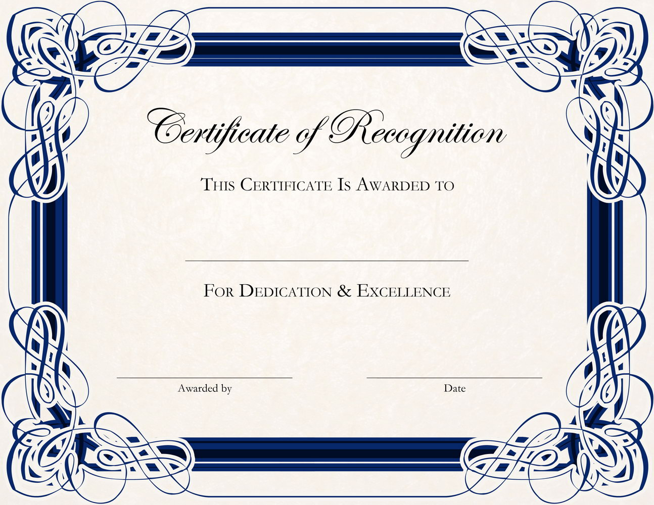 Appreciation Certificate Template For Students